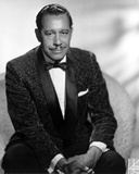 Cab Calloway sitting in Black Suit Photo by  Movie Star News