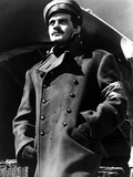 Omar Sharif in Police Coat With Cap Photo by  Movie Star News