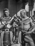 Ten Commandments Talking in Classic Photo by  Movie Star News