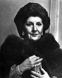 Maureen Stapleton Portrait in Classic Photo af Movie Star News