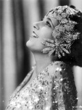Kay Francis on a Beaded Top Portrait Photo by  Movie Star News