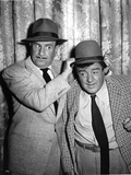 Abbott & Costello Posed wearing Hat Photo by  Movie Star News