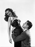 Rita Hayworth Held by a Man in Suit Photo by Robert Coburn