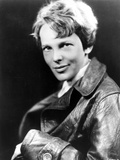 Amelia Earhart on Top Leather Jacket Photo by  Movie Star News