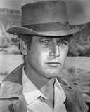 Paul Newman Portrait in Classic with Hat Photo by  Movie Star News