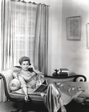 Joan Fontaine Answering a Telephone Photo by  Movie Star News