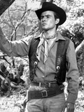 Horst Buchholz Posed in Cowboy Outfit Photo by  Movie Star News