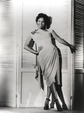 Dorothy Dandridge Leaning in Classic Photo by  Movie Star News