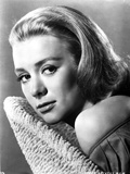 Inger Stevens in Off Shoulder Blouse Photo by  Movie Star News