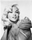 Jayne Mansfield Close Up in Classic Photo by  Movie Star News
