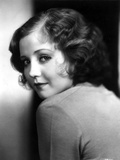Nancy Carroll Looking Back in Classic Photo by  Movie Star News