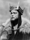 Orson Welles Portrait in Feather Coat Photo by  Movie Star News