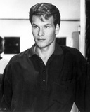 Patrick Swayze in Black Polo Portrait Photo by  Movie Star News