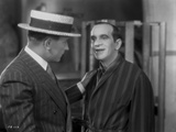 Al Jolson Talked by a Man with a Hat Photo by  Movie Star News