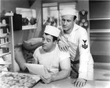 Abbott & Costello in Sailor Uniforms Photo by  Movie Star News