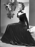 Gloria Grahame Posed in a Black Dress Photo by  Movie Star News