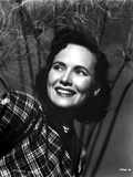 Teresa Wright Portrait in Plaid Top Photo by  Movie Star News