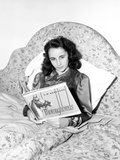 Elizabeth Taylor Reclining in Classic Photo by  Movie Star News