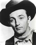 Robert Mitchum Posed in Cowboy Outfit Photo by  Movie Star News