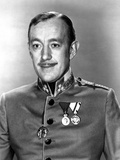 Alec Guinness Posed in Police Uniform Photo by  Movie Star News