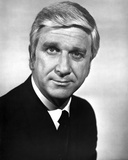 Leslie Nielsen Posed in Black Suit Photo by  Movie Star News