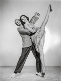 Silk Stockings Dancing in Black and White Photo by  Movie Star News