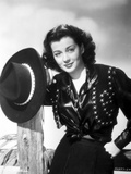 Gail Russell Posed in Western Outfit Photo by  Movie Star News