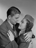 Ronald Reagan Getting Romantic with Woman Photo by  Movie Star News