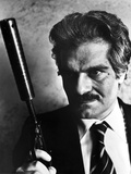 Omar Sharif in Black Suit With Pistol Photo by  Movie Star News