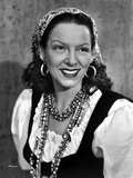 Gale Sondergaard smiling in Portrait Photo by  Movie Star News