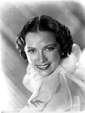 Eleanor Powell smiling in Ruffled Top Photo af Movie Star News