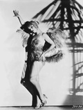 Louise Brooks Posed in Fur Sexy Dress Photo by  Movie Star News