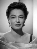 Ruth Roman Black and White Portrait Photo by  Movie Star News