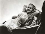 Alice Faye Lady in Couched Portrait Photo by  Movie Star News