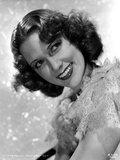 Eleanor Powell Posed in Ruffled Top Photo by  Movie Star News