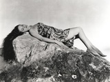 Dorothy Lamour Seated in Tube Dress Photo by  Movie Star News