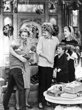 Lucille Ball with Cast in Movie Scene Photo by  Movie Star News