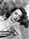 Julie London on a Checkered Top Portrait Photo by  Movie Star News