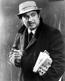 John Belushi in Black Coat With Hat Photo by  Movie Star News