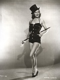 Rhonda Fleming on a Magician's Attire Photo by  Movie Star News