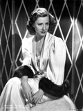 Irene Dunne on a Silk Dress Portrait Photo by  Movie Star News