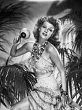 Rita Hayworth Dancing with a Maracas Photo by Robert Coburn