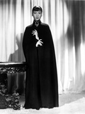 Anna Wong wearing a Long Black Dress Photo by  Movie Star News