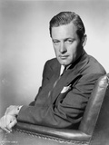 William Holden in Black Suit Portrait Photo by  Movie Star News
