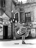 Ann Sheridan Dancing on the Street Photo by  Movie Star News