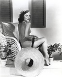 Paulette Goddard Posed in Sexy Top Photo by  Movie Star News