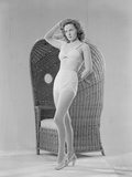 Susan Hayward Posed in Two Piece Photo by  Movie Star News