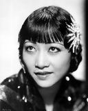 Anna Wong wearing a Black Dress Photo by  Movie Star News