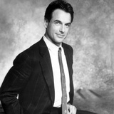 Mark Harmon in Black Suit Portrait Photo by  Movie Star News