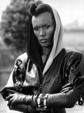 Grace Jones Portrait in Classic Photo by  Movie Star News